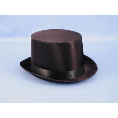 Satin Top Hat Black