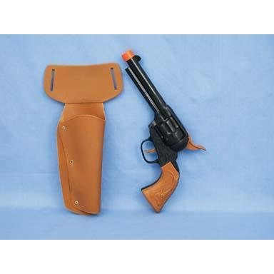 Western Holster With Guns