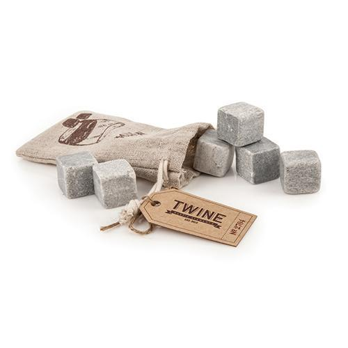 Whiskey Stones Glacier Rocks With Bag Bulk (twine)