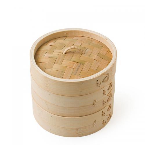 "Bamboo Steamer Set 6"""