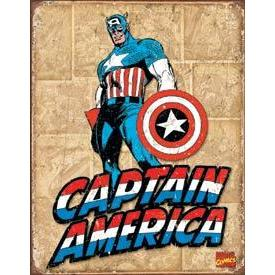 Tin Sign - Captain America