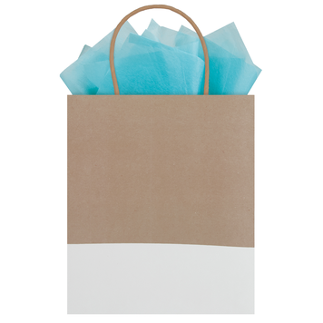 Gift Bag Kraft Dipped Purist