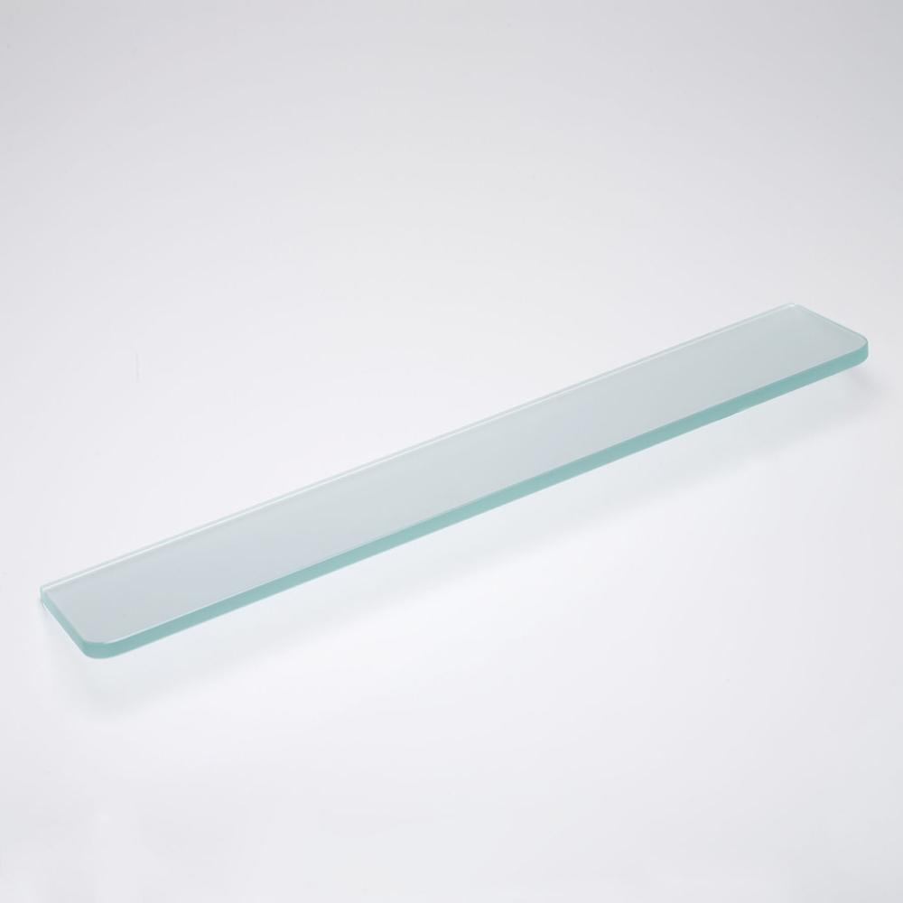 Frosted Standard Glass Shelf 24in X 8in X 5/16in