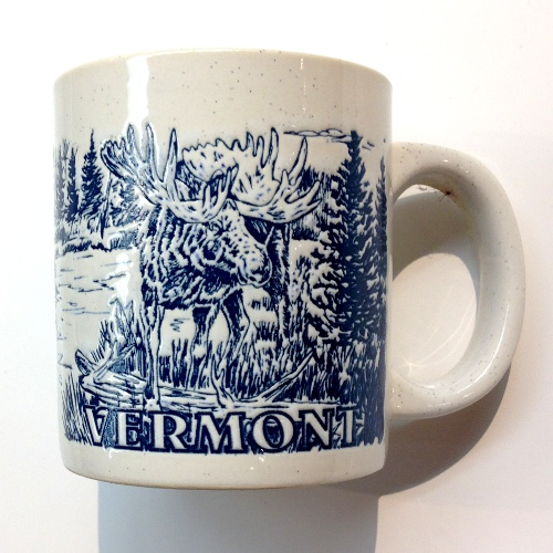 Mug Grey Reflief Moose