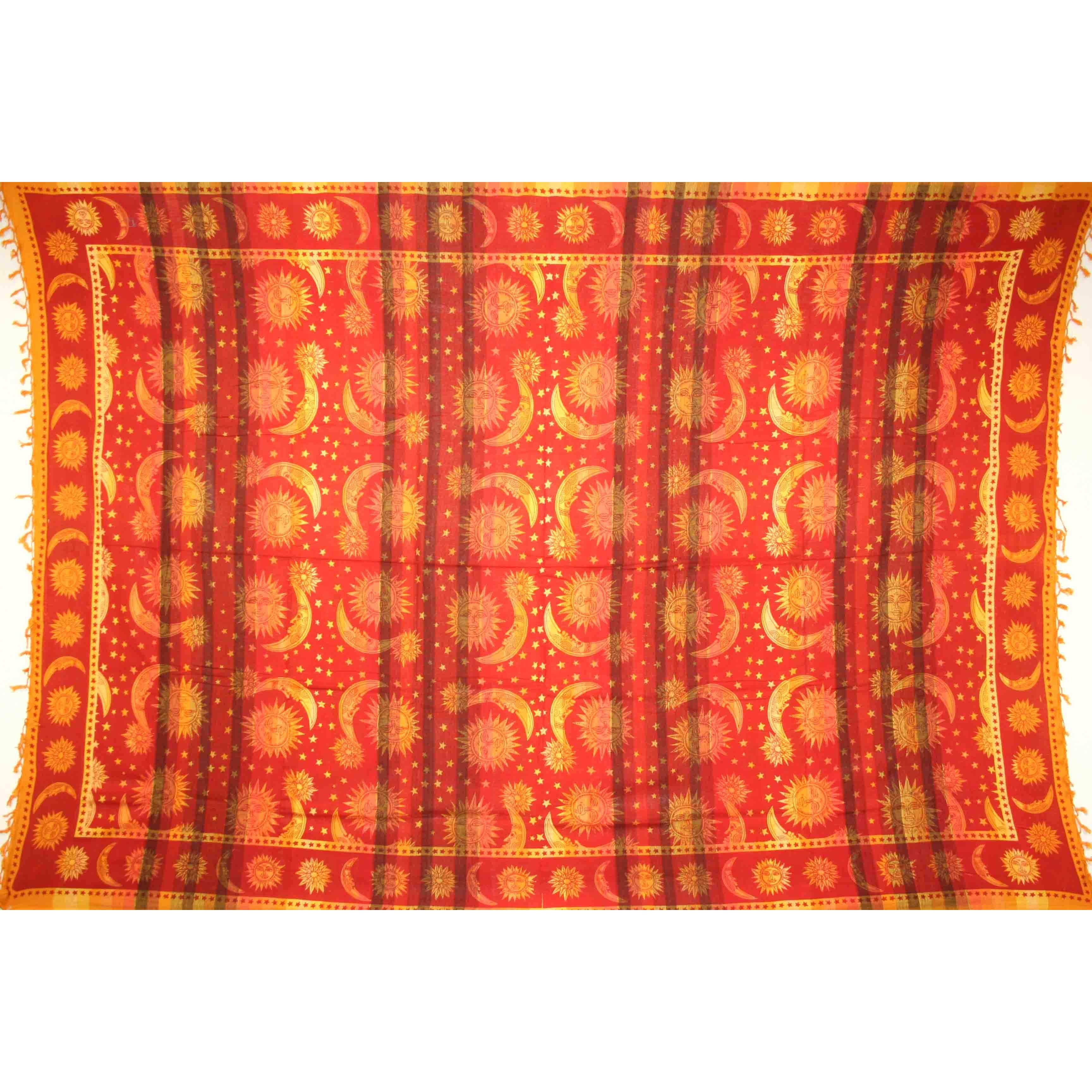 Tapestry Twin Size Overprint Celestial Yellow