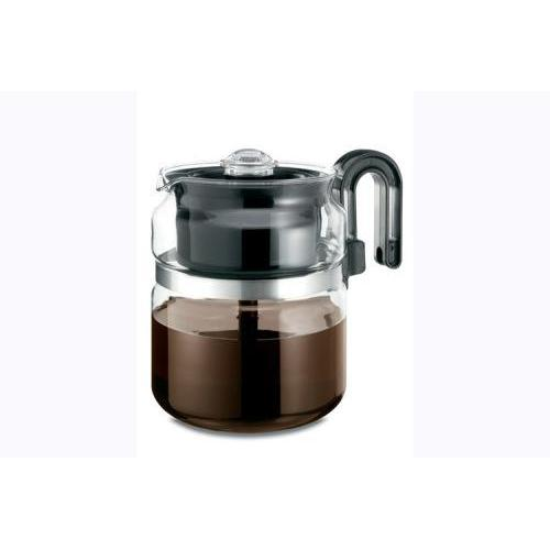Coffee Maker Glass Stovetop Percolator 8 Cup