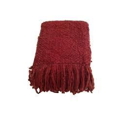 Throw Blanket Campbell Scarlet 40x70
