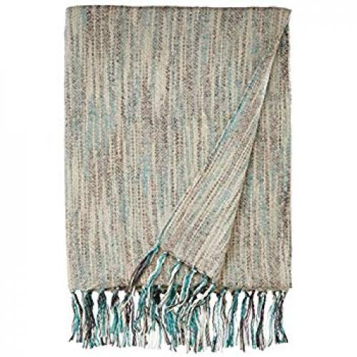 Throw Blanket Zephyr Silver 50x70