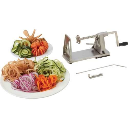 Vegetable Spiralizer Standing Stainless Steel
