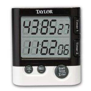 Kitchen Timer Digital Dual-event (taylor)