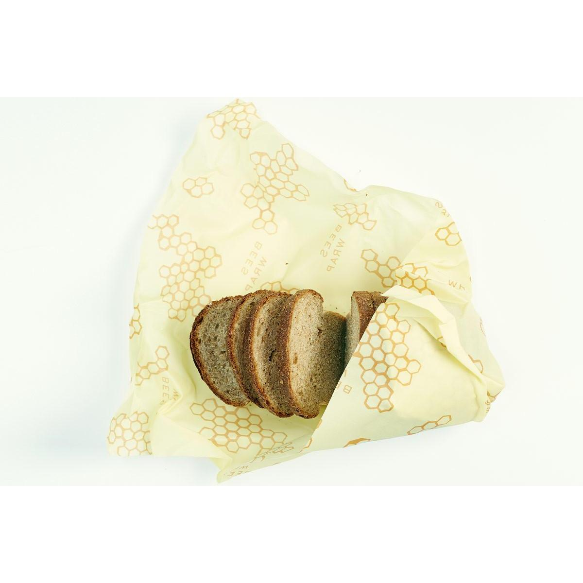 Food Saver Wax Bees Wrap Single 17x23in Bread Exra Large