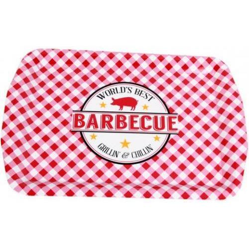 Serving Tray Melamine Barbecue