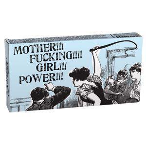Novelty Gum - Girl Power- Cinnamon Flavor