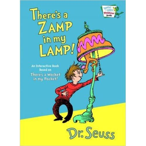 Dr. Seuss Book There\'s A Zamp In My Lamp 6.5x9