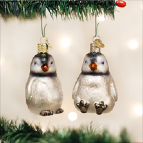 Christmas Ornament Penguine Chicks