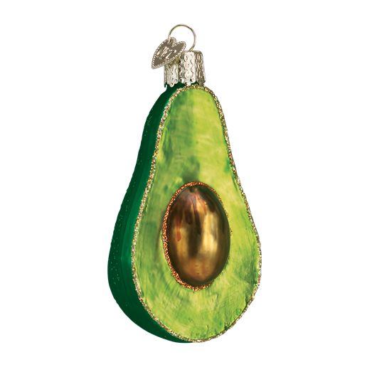 Christmas Ornament Avocado