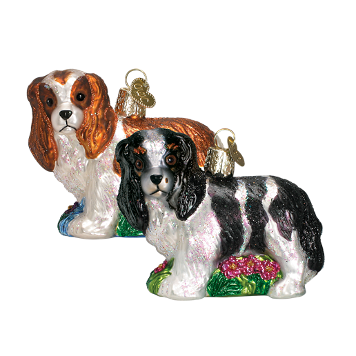 Christmas Ornament Dog King Charles Spaniel