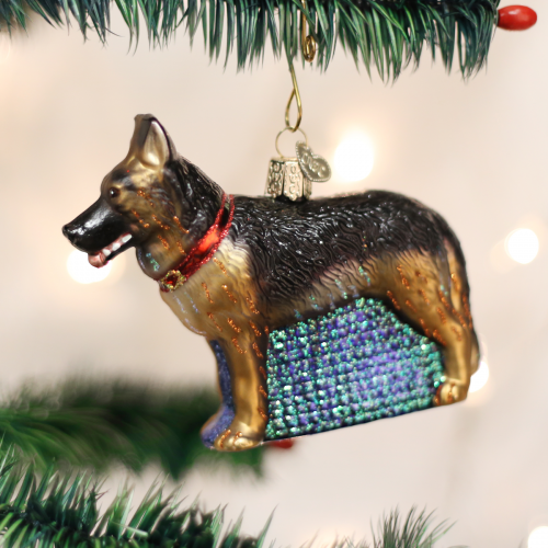 Christmas Ornament Dog German Shepard
