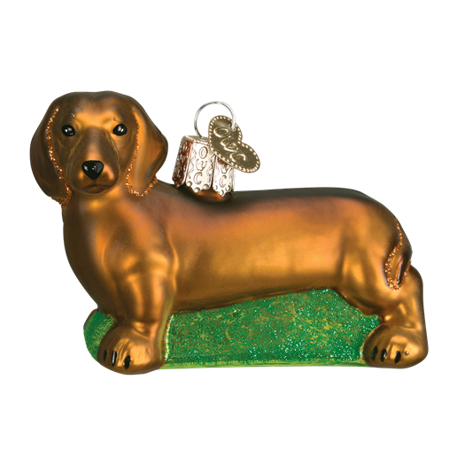 Christmas Ornament Dog Dachshund