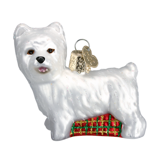 Christmas Ornament Dog Westie