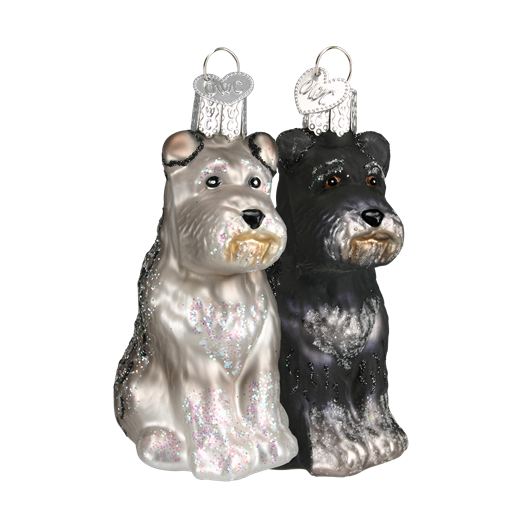Christmas Ornament Dog Schnauzer
