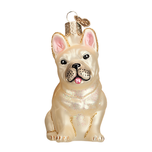 Christmas Ornament Dog French Bulldog