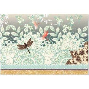 Boxed Card Blank Dragonfly