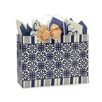 Gift Bag Large Vogue Blue Indigo Rhapsody