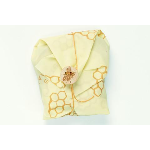 Food Saver Wax Bees Wrap Single 13x13in Sandwich