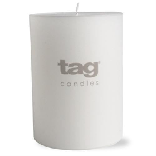 Pillar Candle 3x4 White