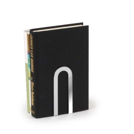 Bookend Elements Small Chrome