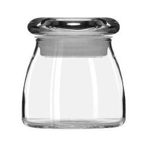 Jar Vibe Tapered Glass With Flat Lid  4.5 Ounce