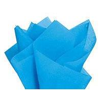 Tissue Paper - Blue Turquoise - 20x26