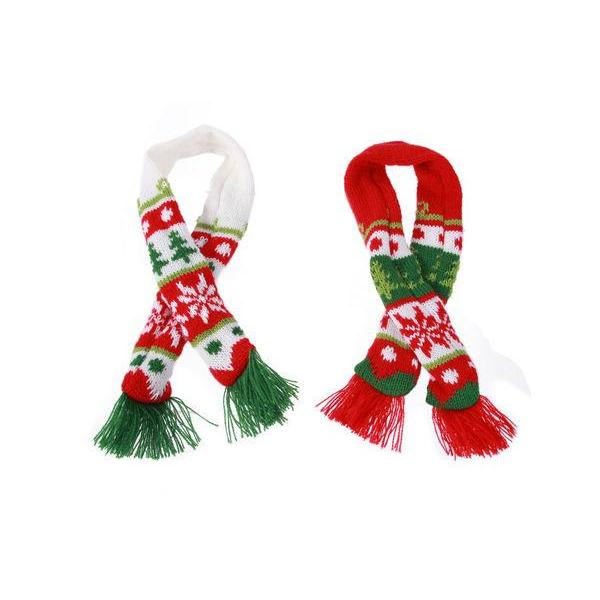 Christmas - Pet - Nordic Knit Dog Scarf