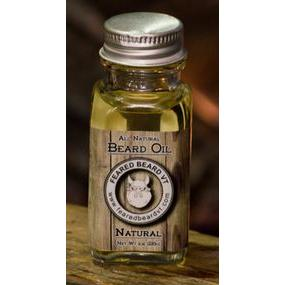 Beard Oil Natural 1oz