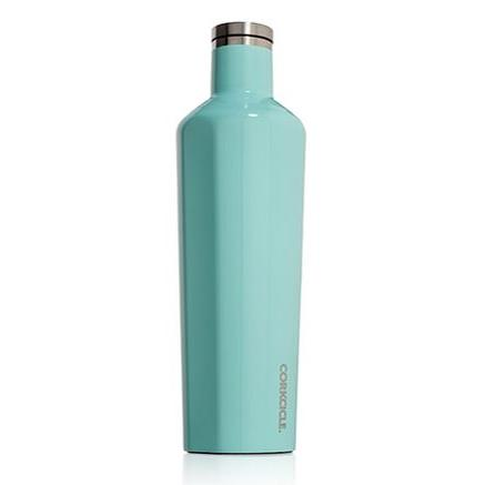 Travel Bottle Canteen 25oz, Turquoise