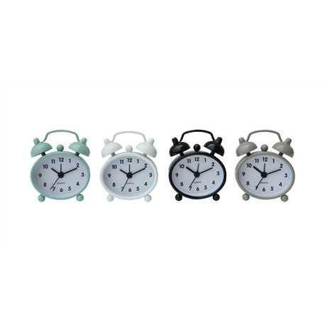 Alarm Clock Metal 4 Colors