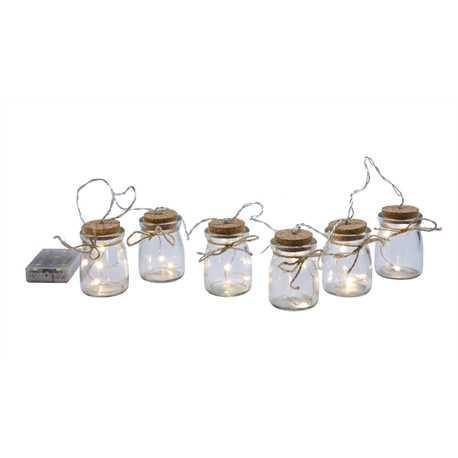 Outdoor String Lights Led Firefly Jars