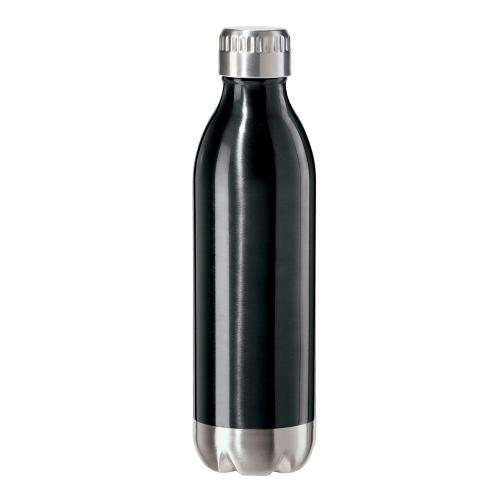 Travel Water Bottle Stainless Steel Sport Calypso Lustre 17oz Black