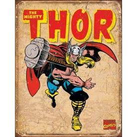 Tin Sign - Thor Retro