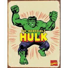 Tin Sign - Hulk Retro
