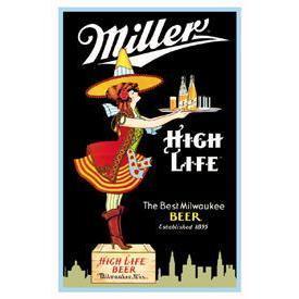 Tin Sign - Miller Server
