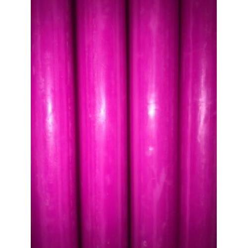 Candle Kiri Taper 12in Hot Pink