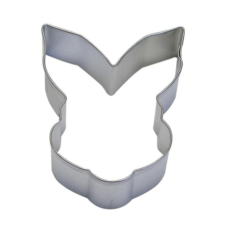 Cookie Cutter Animal Head Bunny 3.5 Inch