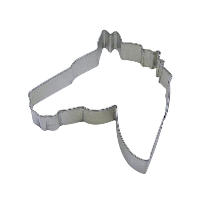 Cookie Cutter Animal Head Horse 4.5 Inch