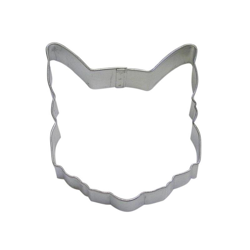 Cookie Cutter Animal Head Cat 3.5 Inch