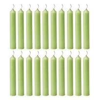 Chime Eye Of The Day Candle Light Green Box Of 20