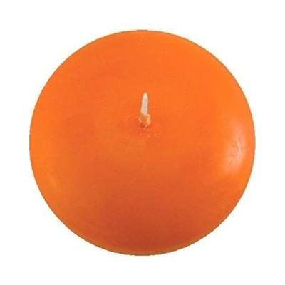 "Floating Candle 3"" Orange"