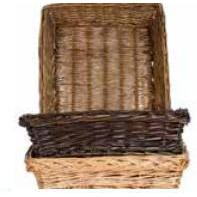 Willow Basket Tray Rectangle Small- 3 Colors