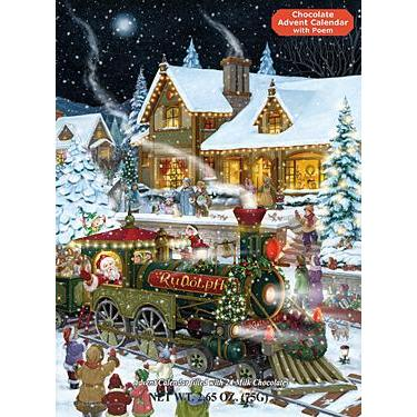 Advent Calendar Chocolate Whistle Stop Christmas